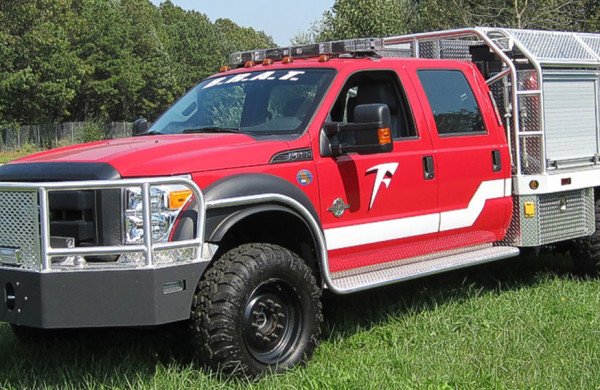 Brush Rapid Attack Trucks