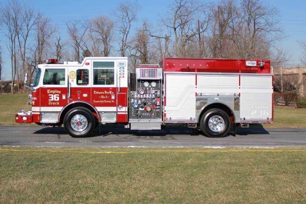 Citizens's Fire Company, Fire Truck