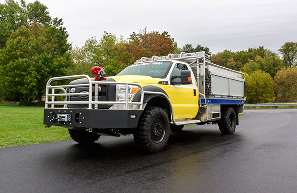 Firematic BRAT - Brush Truck - Ford F550 4x4 - Driver Side View