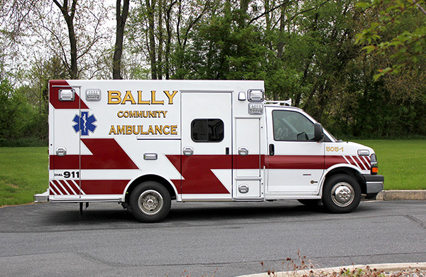 Braun ambulances Signature Series - Type III Ambulance - Chevrolet G3500 - Passenger Side