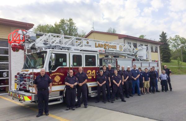 Cranberry Township Volunteer Fire Department - Acceptance Event