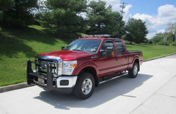 fire chief vehicles for sale in PA - Glick Fire Equipment - Ford F550 - Driver Side View