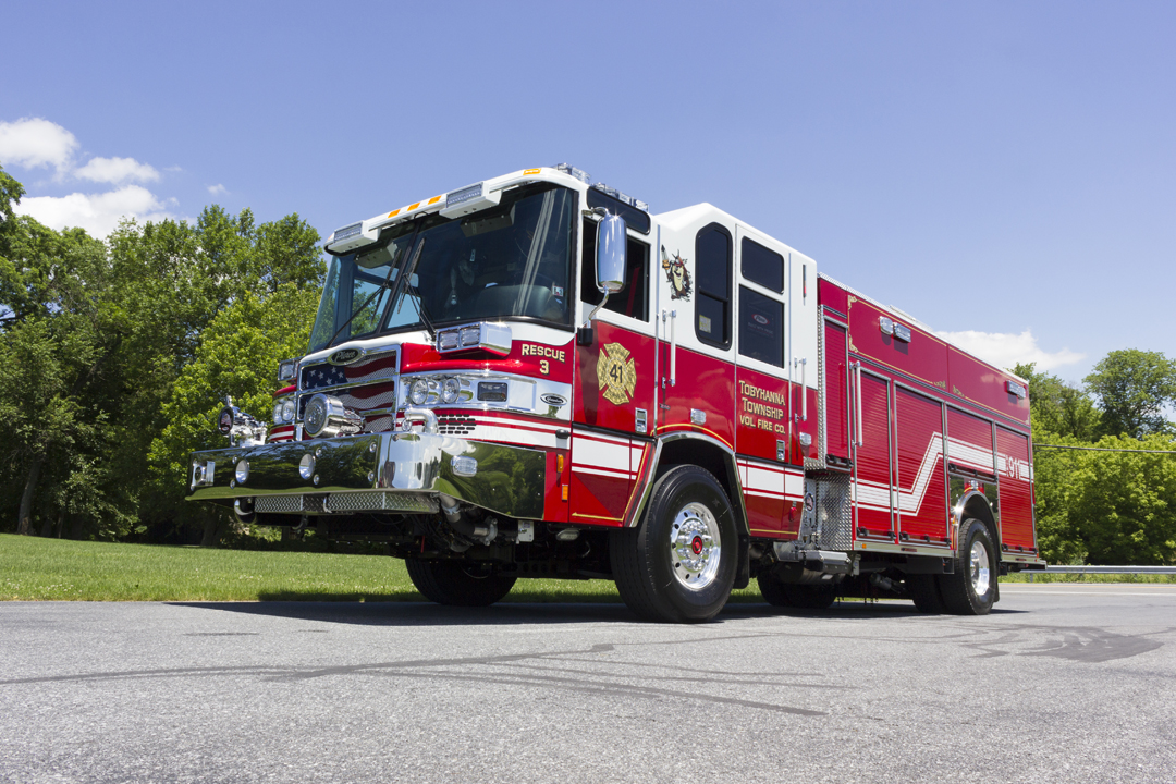 Monroe Truck Equipment >> Tobyhanna Volunteer Fire Company - Glick Fire Equipment Company