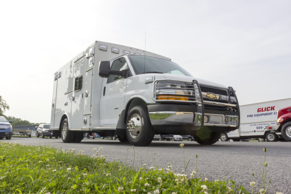 2015 Braun Signature Series Type III ambulance - Chevy G3500 - passenger front