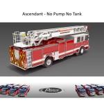 Pierce Ascendant - No Pump No Tank - Passenger Side Rear View