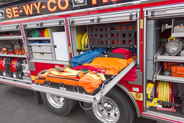 Pierce Velocity - Heavy Duty Rescue - Custom Tool Mounting 3
