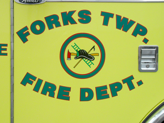 Forks Township Volunteer Fire Department Glick Fire