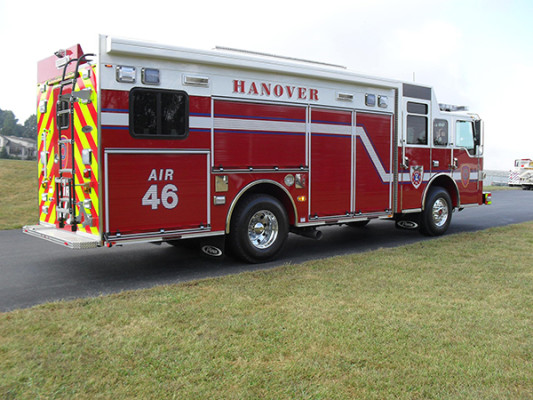 Pierce Impel Encore Rescue Fire Truck - Non Walk-In
