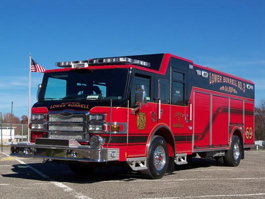 Pierce Impel Heavy Rescue Fire Truck - Non Walk-In Heavy Duty Rescue