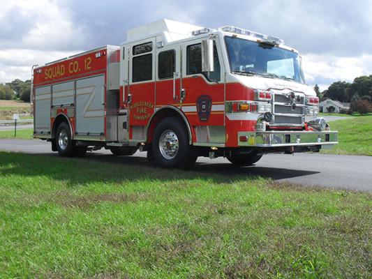 Pierce Velocity PUC Pumper - Pumper Fire Truck