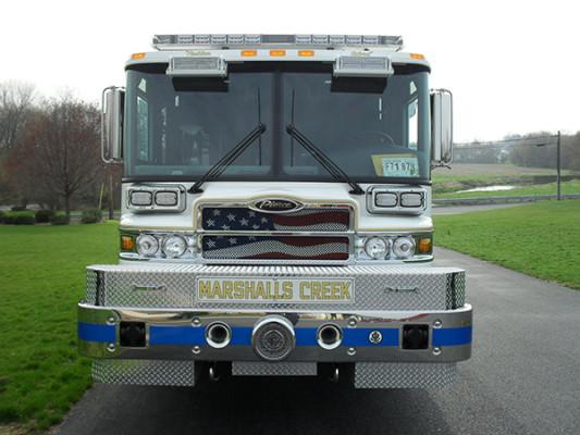 Pierce Quantum Pumper - Fire Engine - Front