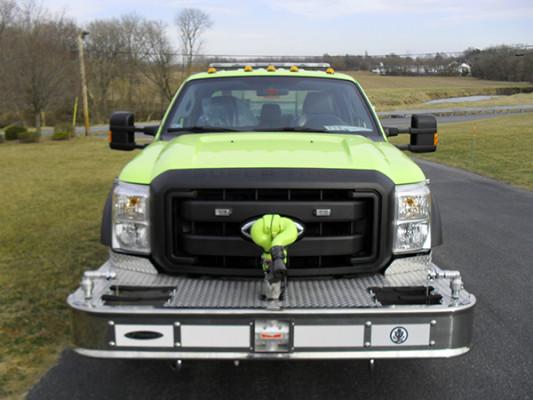 Pierce Ford Wildland Patrol Unit - Fire Brush Truck - Front