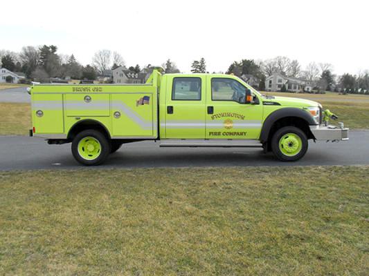 Pierce Ford Wildland Patrol Unit - Fire Brush Truck - Passenger Side