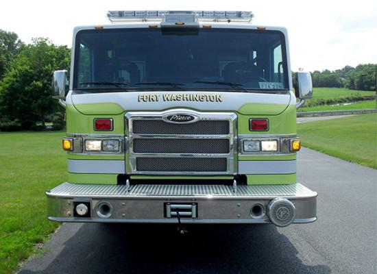 Pierce Impel Heavy Duty Rescue Truck - Non-Walk-In Rescue - Front