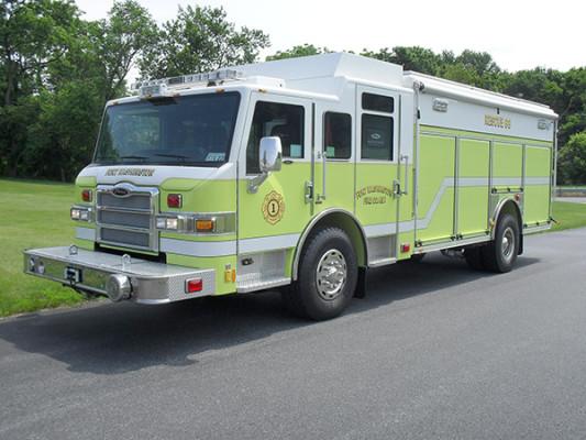 Pierce Impel Heavy Duty Rescue Truck - Non-Walk-In Rescue - Driver Front