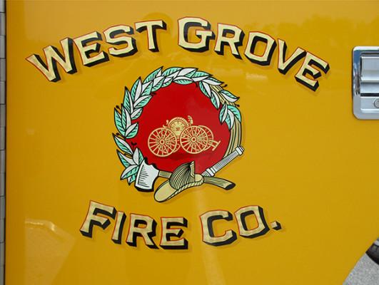 Pierce Arrow XT Pumper - Fire Engine - Logo Closeup