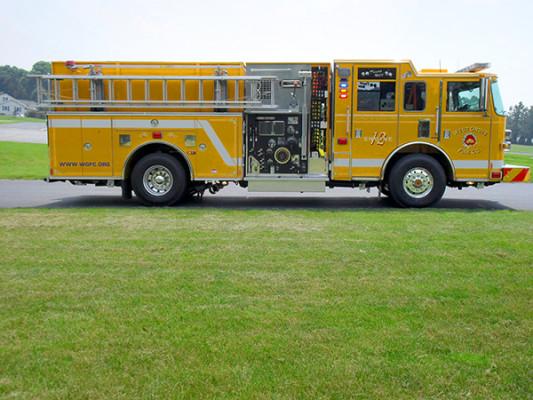 Pierce Arrow XT Pumper - Fire Engine - Passenger Side