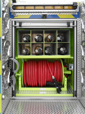 Pierce Velocity Pumper - Fire Engine - Organized Compartment