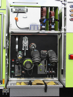 Pierce Velocity Pumper - Fire Engine - Pump Panel
