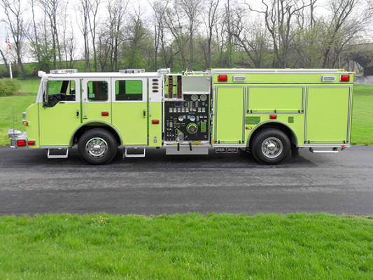 Pierce Velocity Pumper - Fire Engine - Driver Side