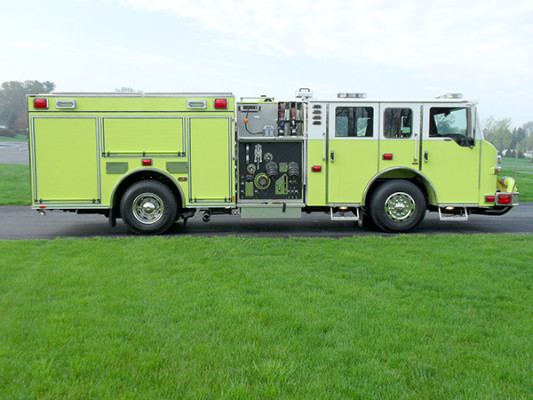 Pierce Velocity Pumper - Fire Engine - Passenger Side