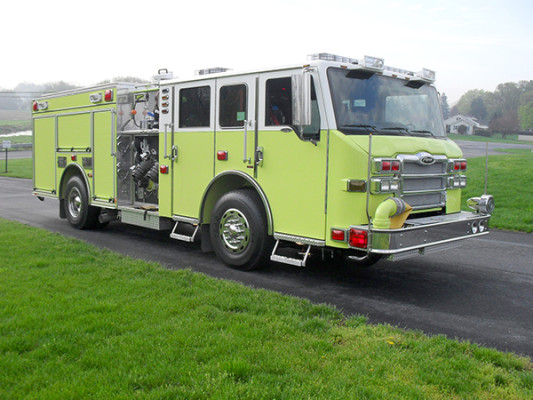 Pierce Velocity Pumper - Fire Engine - Passenger Front