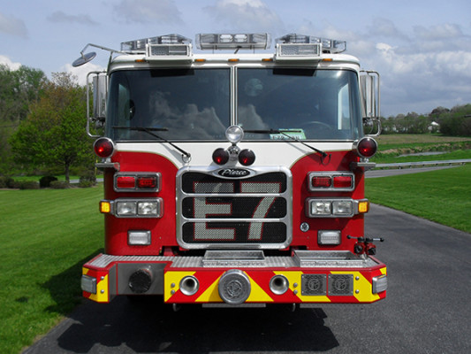 Blue Rock Fire Rescue - Pierce Arrow XT Pumper - Front