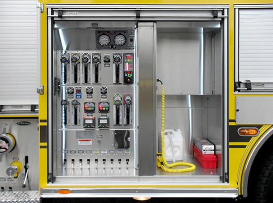 Lampeter FC - Pierce Impel PUC Pumper - Fire Engine - Pump Panel