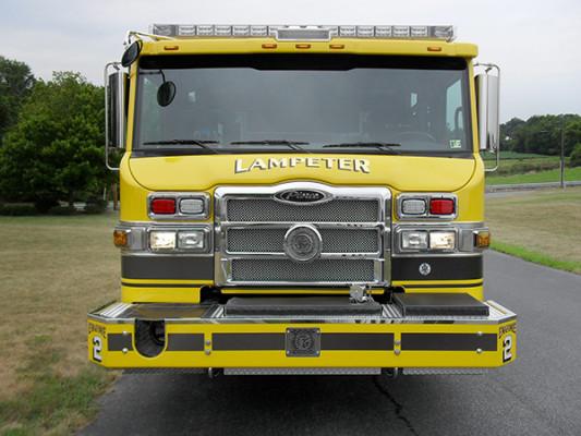 Lampeter FC - Pierce Impel PUC Pumper - Fire Engine - Front