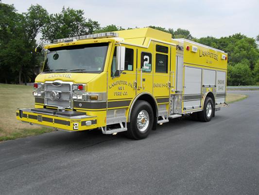 Lampeter FC - Pierce Impel PUC Pumper - Fire Engine - Driver Front