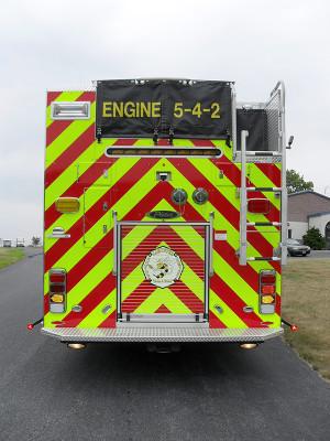 Lampeter FC - Pierce Impel PUC Pumper - Fire Engine - Rear