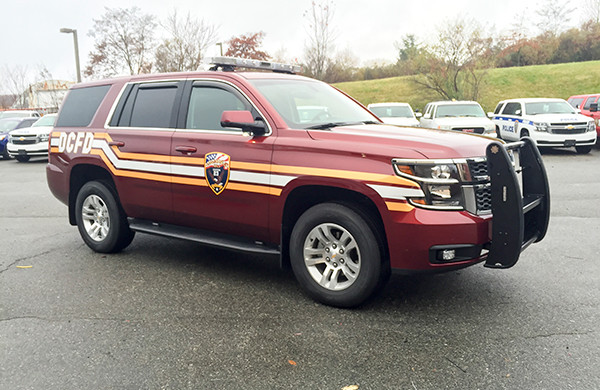 Eagle Hose - First Priority Fire Chief Vehicle - Upfit Conversion Package - Passenger Front