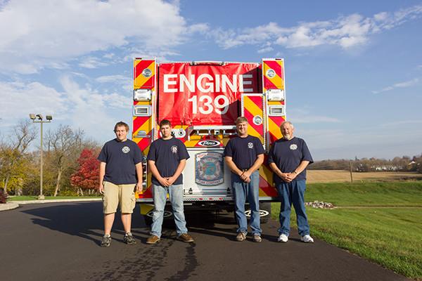 Pierce Arrow XT Pumper - Engine 139 - Members Accept Delivery