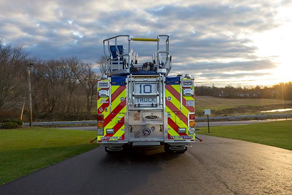 Pierce Arrow XT - 75' Aerial Ladder - Fire Truck 10 - Rear