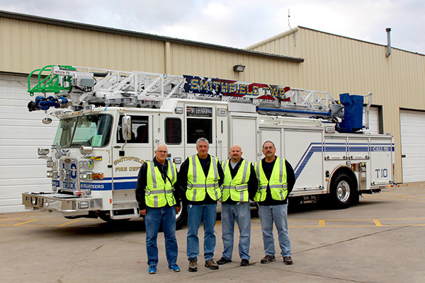 Smithfield Packing Supply Services : Smithfield township fire department glick equipment