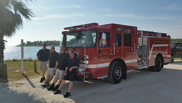 Pierce Saber FR - Rescue Pumper Fire Truck - Engine 18 - Members Take Delivery