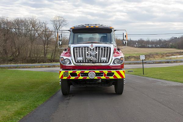 Mill Creek VFC - Pierce International Fire Truck Tanker - Front