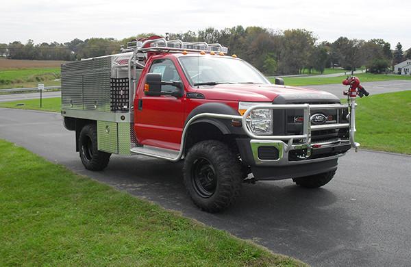 Friendship FC - Firematic BRAT Rally Brush Fire Truck - Passenger Front