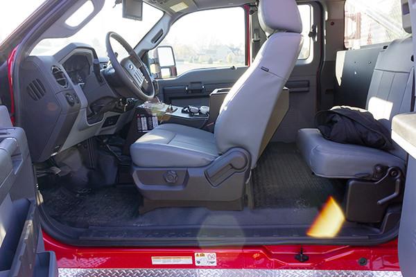 Tunkhannock VFC - Firematic BRAT Rally Brush Fire Truck - Cab