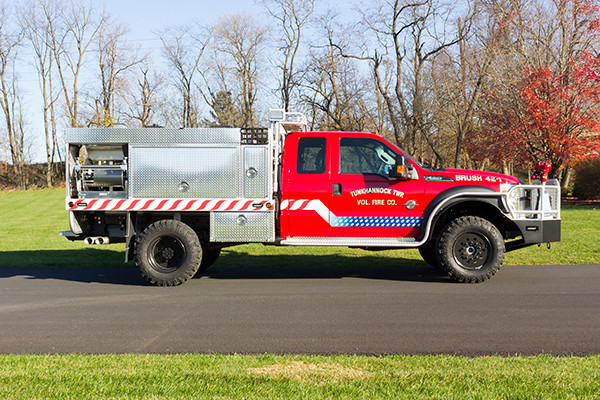 Tunkhannock VFC - Firematic BRAT Rally Brush Fire Truck - Passenger Side
