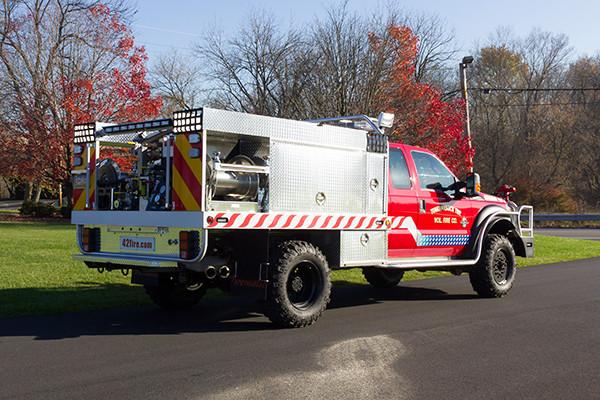 Tunkhannock VFC - Firematic BRAT Rally Brush Fire Truck - Passenger Rear