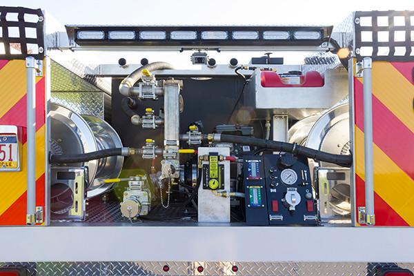 Tunkhannock VFC - Firematic BRAT Rally Brush Fire Truck - Pump Unit