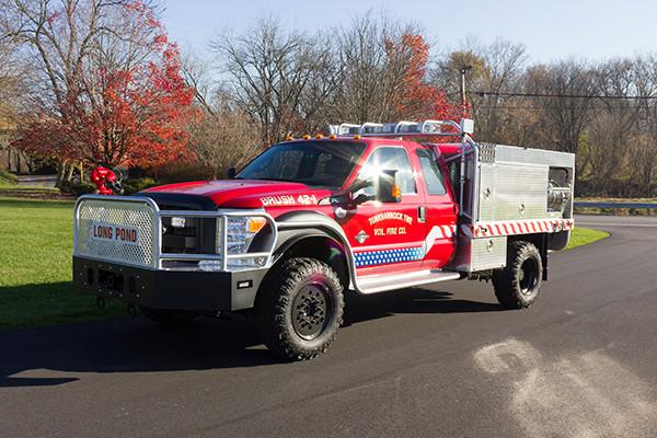 Tunkhannock VFC - Firematic BRAT Rally Brush Fire Truck - Driver Front