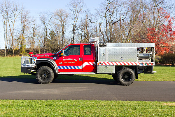 Tunkhannock VFC - Firematic BRAT Rally Brush Fire Truck - Driver Side