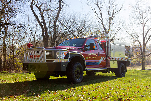 Tunkhannock VFC - Firematic BRAT Rally Brush Fire Truck - Driver Front Off Road
