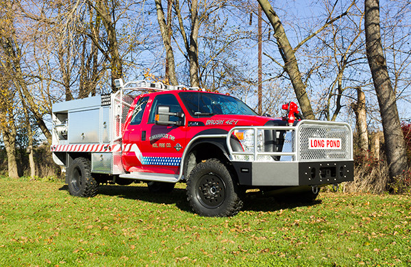 Tunkhannock VFC - Firematic BRAT Rally Brush Fire Truck - Passenger Front Off Road