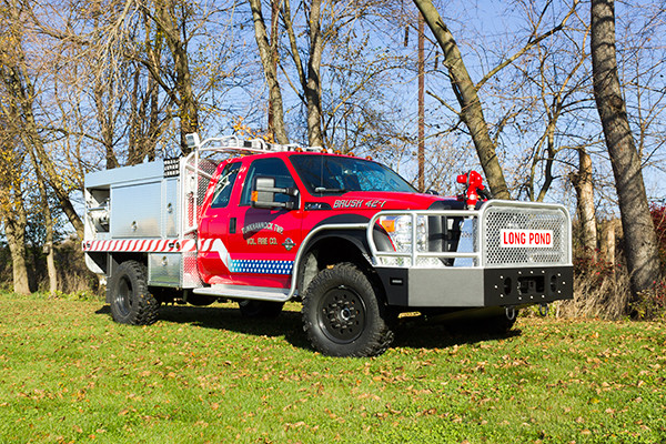 Tunkhannock VFC - Firematic BRAT Rally Brush Fire Truck - Passenger Front Off Road