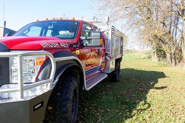 Tunkhannock VFC - Firematic BRAT Rally Brush Fire Truck - Driver Front Low