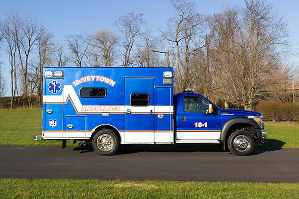 Braun Liberty Type I Ambulance - Ford F450 4x4 Chassis - Passenger Side