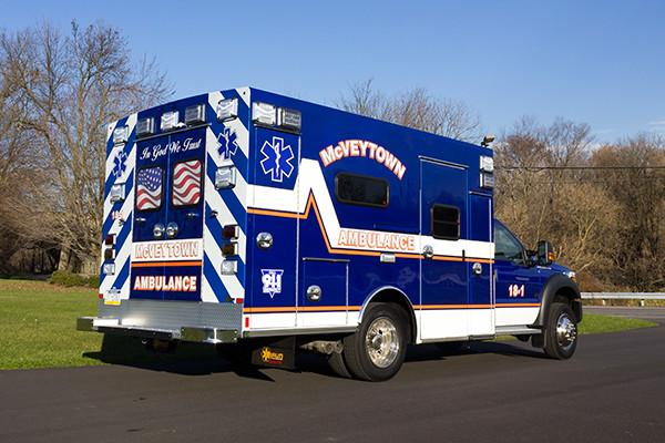 Braun Liberty Type I Ambulance - Ford F450 4x4 Chassis - Passenger Rear